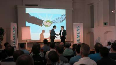 Future Now an den Siemens Digitalization Days 2017